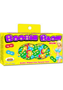 Boobie Blow Boobie Shaped Gum Fruit Flavored